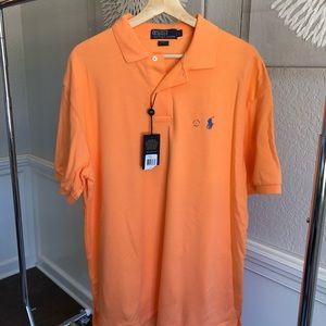 Orange polo by Ralph Lauren